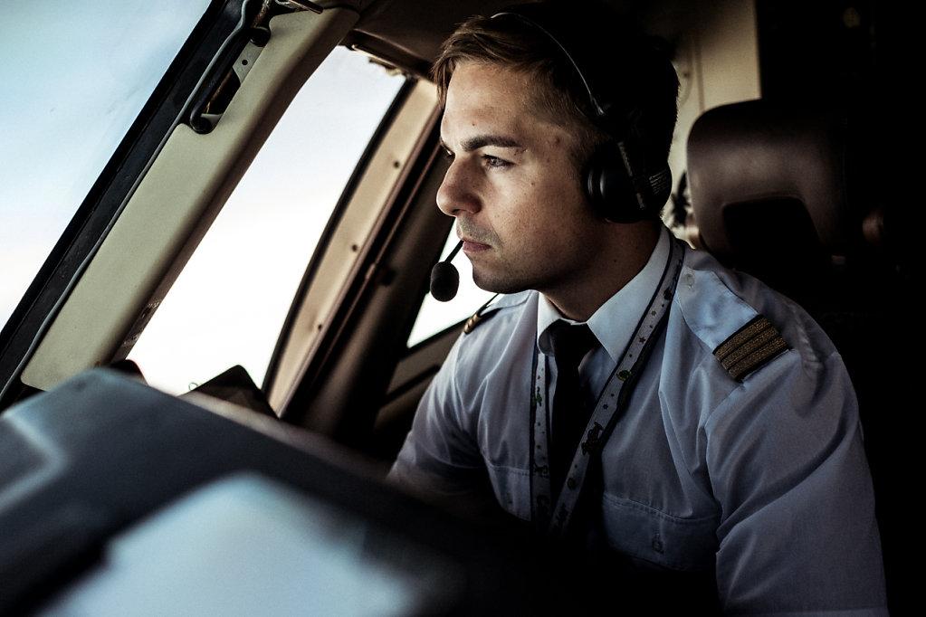 Ein Tag im Leben von Pilot Niko
